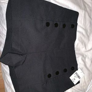 button black shorts size 29 *tags still on*